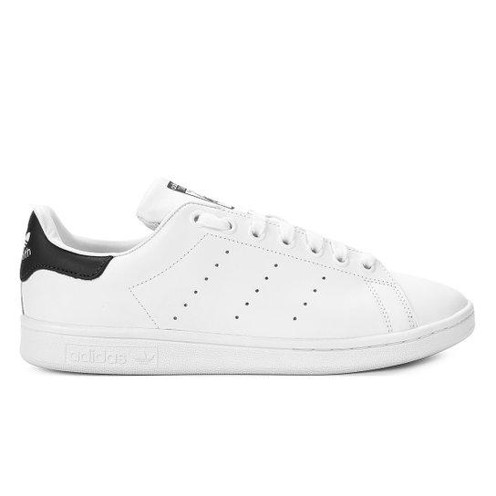 Tênis Adidas Stan Smith - Branco e Marinho - Compre Agora  598ef88d8c182
