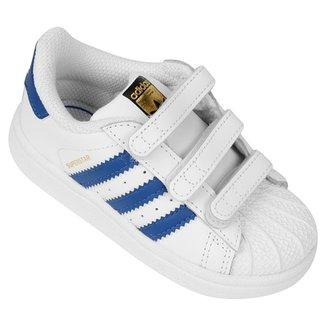 6c34d0822 Tênis Adidas Superstar Foundation Cf Infantil