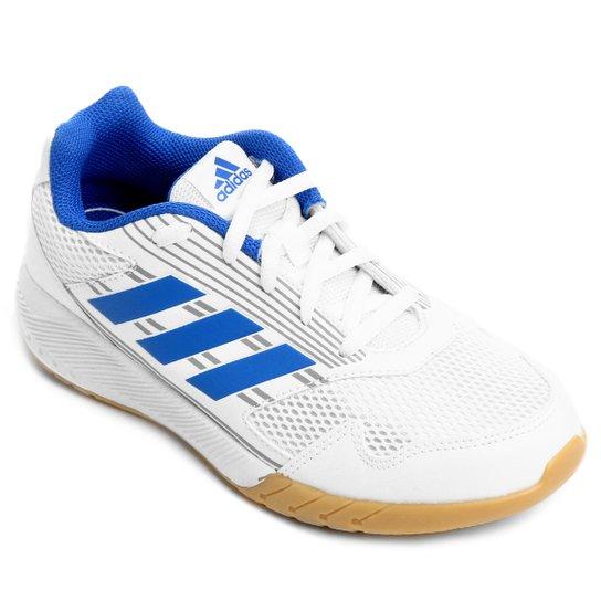 aadf9b53a27 Tênis Infantil Adidas Altarun K - Branco e Azul - Compre Agora