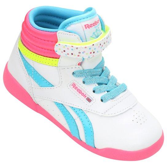 3201411df35 Tênis Reebok Freestyle Hi Bday I Infantil - Compre Agora
