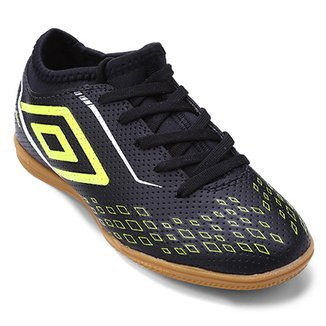 Chuteira Futsal Infantil Umbro Velox 4cf3f8100854b