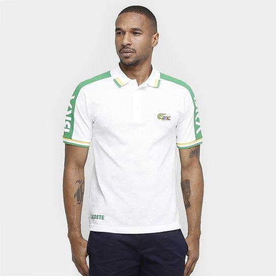 ba27c987be6de Camisa Polo Lacoste Piquet Games - Compre Agora   Zattini
