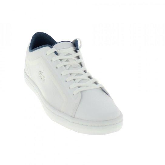 6fce3eeadef Tênis Lacoste Sport Feminino - Branco e Azul - Compre Agora