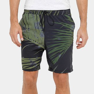9a8806564e7ee Bermuda Hurley Water Palms Masculina