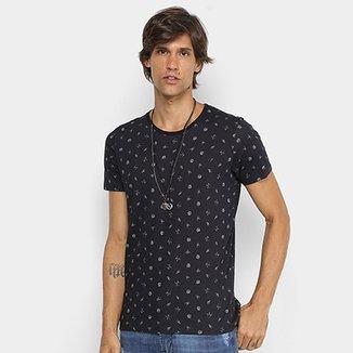 d0cbf4c4c9 Camiseta Manga Curta Colcci Mini Print Masculina