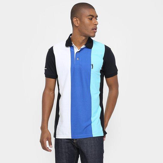 Camisa Polo Aleatory Malha Listras Verticais - Compre Agora  3fe1f2473da90