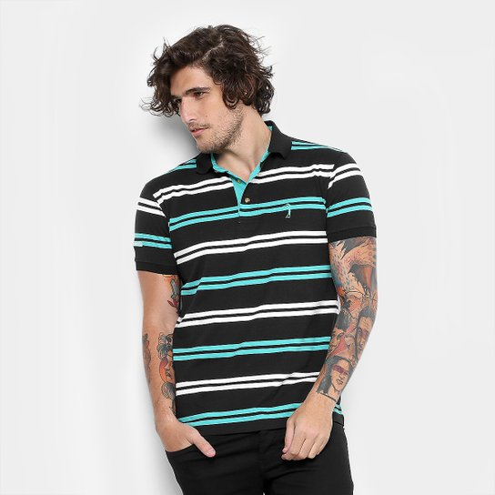 Camisa Polo Aleatory Malha Fio Tinto Masculina - Compre Agora  fdd63070e4ad4