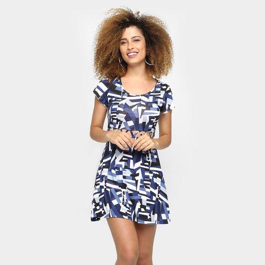 6616a9fc71 Vestido Sofie Estampado Recorte - Compre Agora