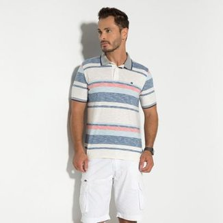 85b4a93ac Camisa Polo Rapport Seeder Masculina