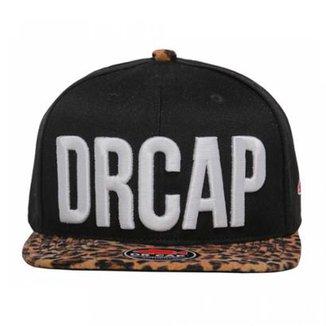 Boné Strapback Leopard Drcap 924001eef31