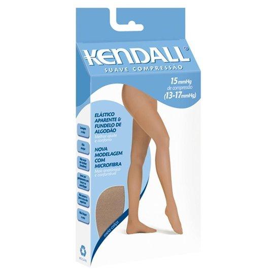 9ac2d7e84 Meia-Calça Kendall Suave Compressão Feminina - Marrom e Branco ...