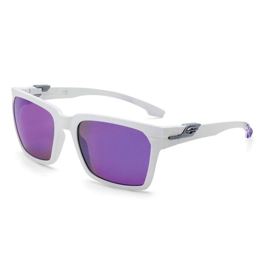7030c1c314 Óculos Mormaii Las Vegas M0057B4492 Masculino - Branco e Lilás