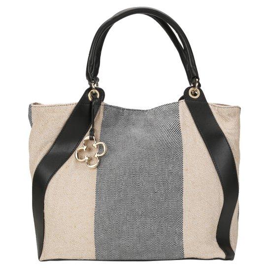 Bolsa Capodarte Tote Tecido - Compre Agora  13224965147