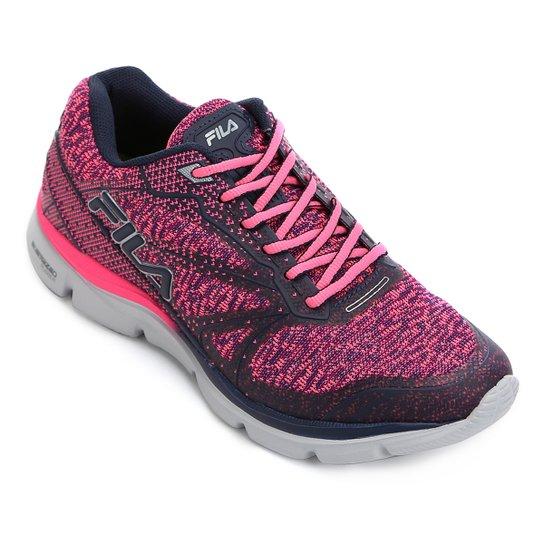 dfe2159b85c Tênis Fila Illusion Feminino - Pink e Marinho - Compre Agora