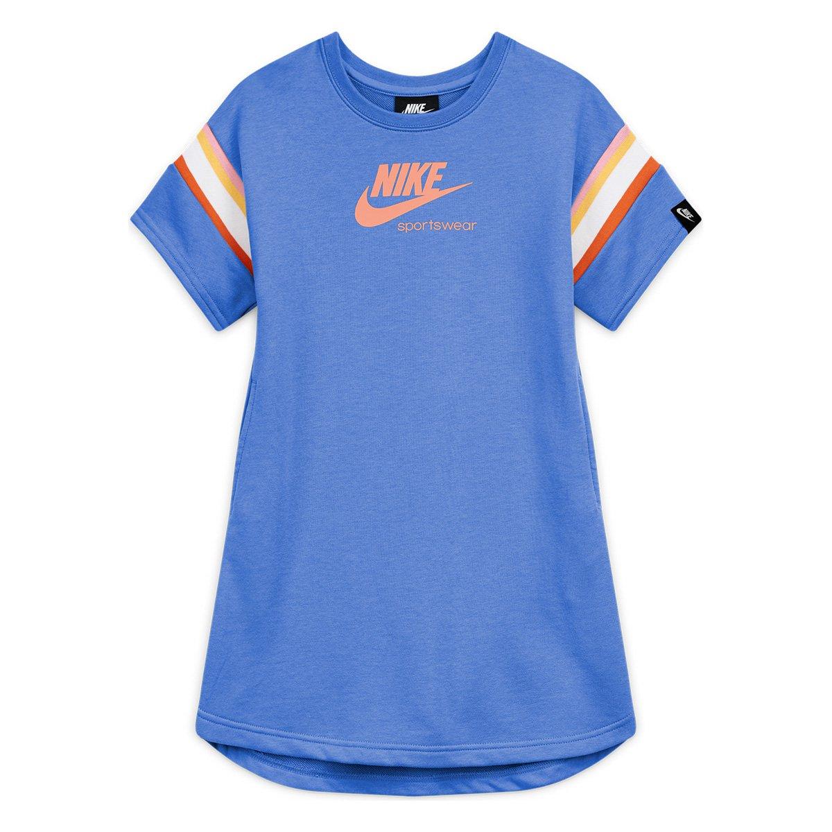 Vestido Infantil Nike Sportswear Heritage