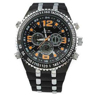 8b3388d852 Relógio Masculino Weide Anadigi WH-1107