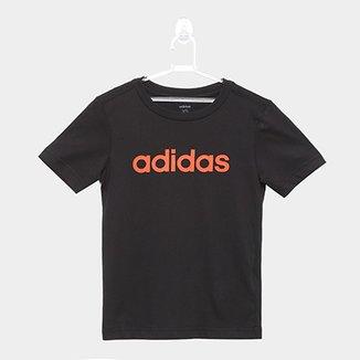 985aaf5b4 Camiseta Infantil Adidas YB LIN TEE Masculina
