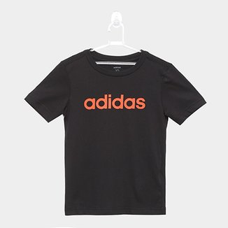 ea1ea5e9f Camiseta Infantil Adidas YB LIN TEE Masculina