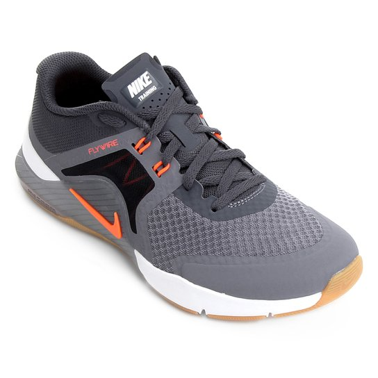 71ae8e0213f Tênis Nike Zoom Train Complete 2 Masculino - Cinza e Laranja ...