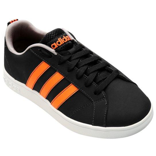 6fe3f1ca3 Tênis Adidas Advantage Vs - Preto e Laranja - Compre Agora
