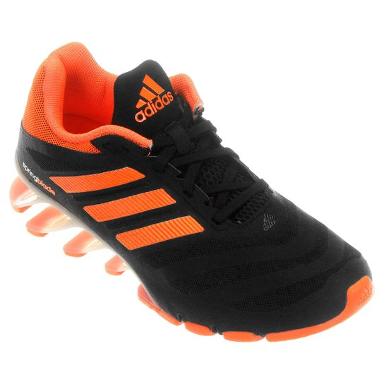buy popular 0c9e7 28964 Tênis Adidas Springblade Ignite 2 Infantil - Preto+Laranja