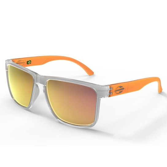 Oculos Sol Mormaii Monterey - Cinza e Laranja - Compre Agora   Zattini 818006ba75