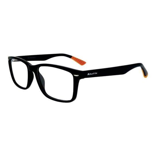 21d65968e8b4d Armação Óculos De Grau Khatto Haste Masculino - Compre Agora