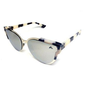 229b2329e5b27 Óculos Solar Espelhado Wayfarer Cayo Blanco