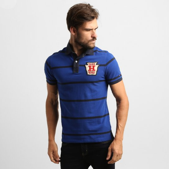 e228144469f Camisa Polo Tommy Hilfiger Piquet Slim Fit - Compre Agora