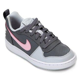 ea1998d94 Tênis Infantil Nike Court Borough Low Feminino