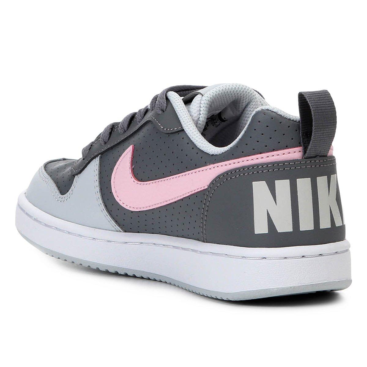 2d4f829e64 Tênis Infantil Nike Court Borough Low Feminino