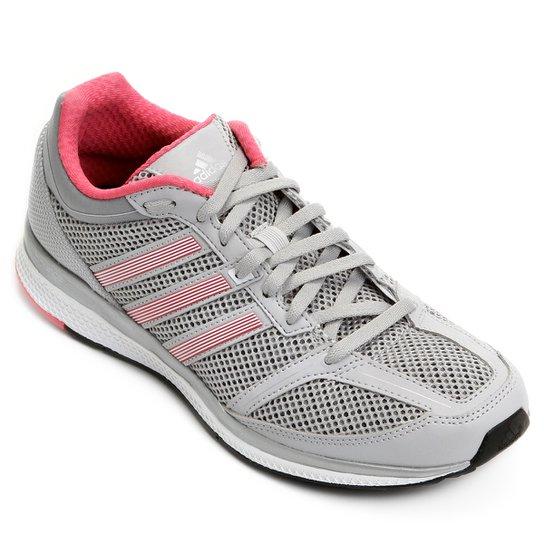 Tênis Adidas Mana Rc Bounce Feminino - Cinza e Rosa - Compre Agora ... af48a8713e016