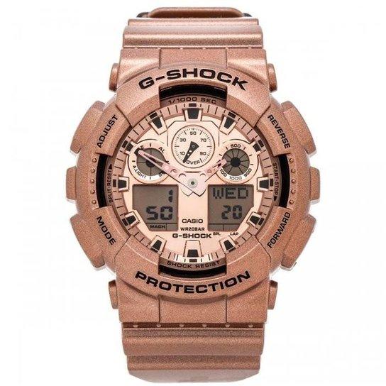 6bf17d0d6a6 Relógio Casio G-Shock GA-100GD-9ADR - Compre Agora