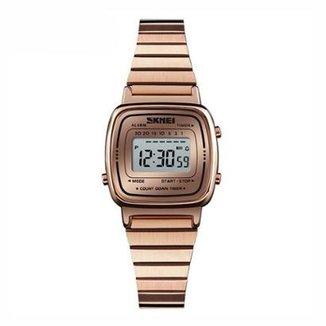 7bb9f87cf01 Relógio Skmei Digital 1252 Feminino