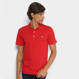 fc03b8fb8a1b2 Camisa Polo Lacoste Logo Super Light Masculina