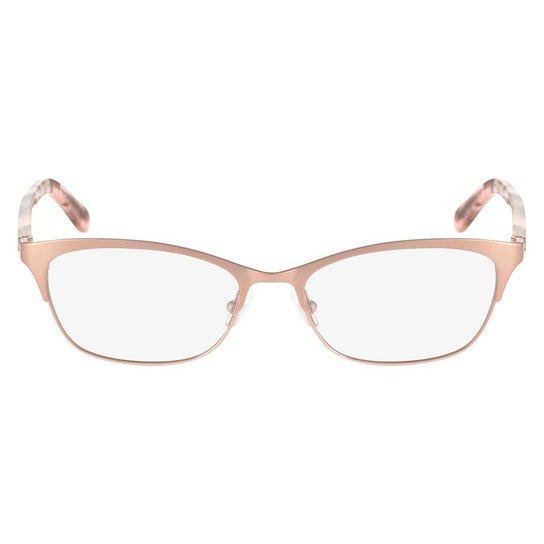 f2f2e97819a55 Armação Óculos de Grau Calvin Klein CK7395 780 52 - Rose Gold ...