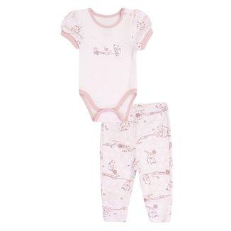 Conjunto Feminino Bibe Body e Calça Little 074df39e4ad
