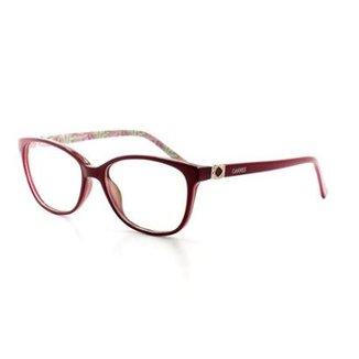 22da0e205 Armação De Óculos De Grau Cannes 2290 T 52 C 13 Feminino