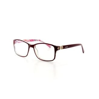 0bf8c8a13 Armação De Óculos De Grau Cannes 2275 T 52 C 6 Feminino
