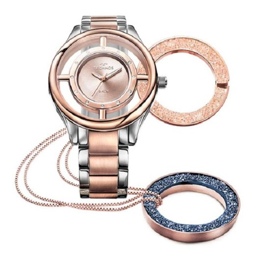 418d5ae7bd2 Relógio Feminino Technos Signature Gl30fn 5A - Compre Agora
