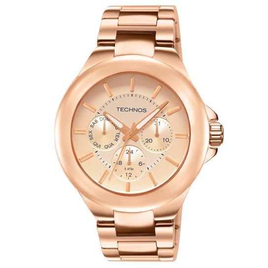 3286314e7f3 Relógio Technos Feminino Rose Gold - 6P29AEN 4T 6P29AEN 4T - Compre ...