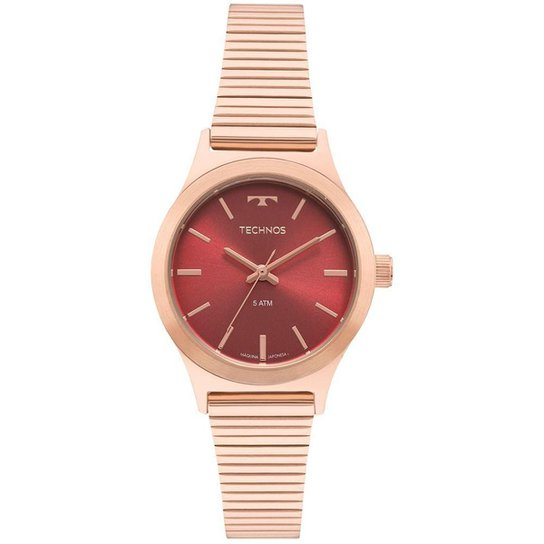 5f246c3d3 Relógio Technos Boutique Rosé Feminino - Rose Gold - Compre Agora ...