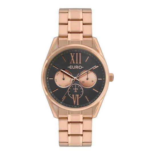 2f235c94f Relógio Euro Construções Rosé Feminino - Rose Gold - Compre Agora ...