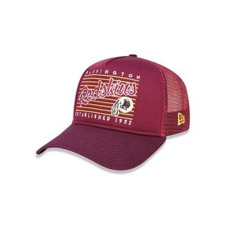 4594d17385929 Boné 940 A-frame Washington Redskins NFL Aba Curva New Era