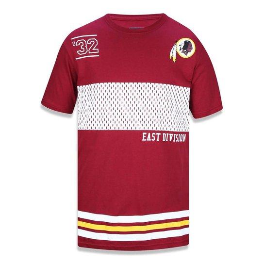 6f46b53873a38 Camiseta Washington Redskins NFL New Era Masculina - Compre Agora ...