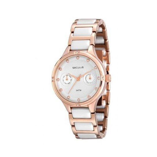 5b4f0b8705b Relógio Feminino Seculus Analógico - Compre Agora