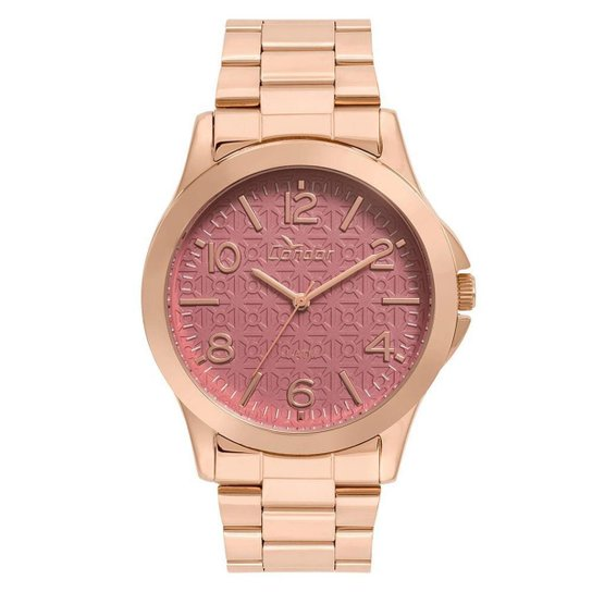 252fbfd2cc8 Relógio Condor Feminino Eterna Bracelete Rosé - CO2036KUG K4N CO2036KUG K4N  - Rose Gold