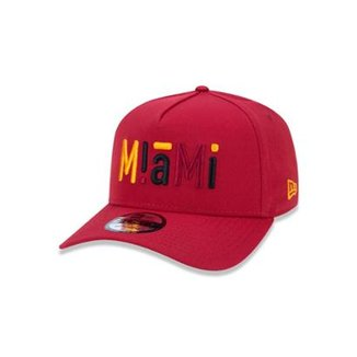 Boné 940 Miami Heat NBA Aba Curva Snapback New Era 387087b03f0