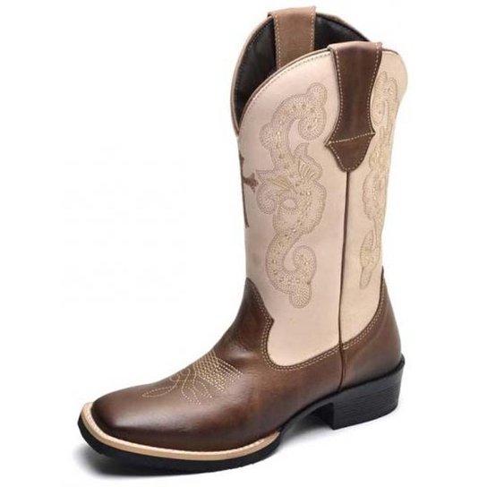Bota Texana Country Feminina - Compre Agora  159264c67dc