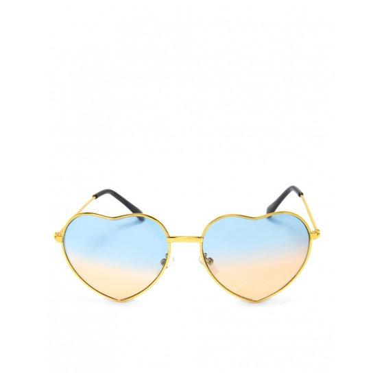 Óculos Amaro De Sol Metal Coração - Compre Agora   Zattini 31c357c9a7